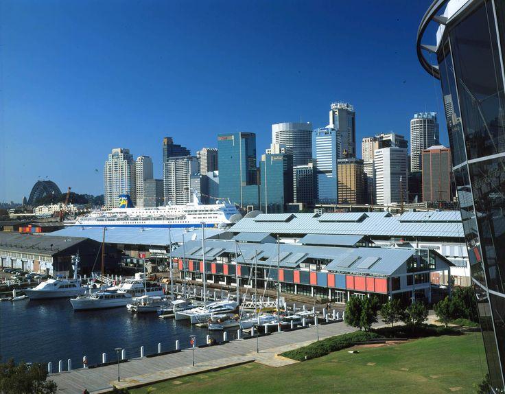 Wharf 10 – Pyrmont #architecture #archidaily #sydney #pyrmont #urbandesign #harbour #modern #officespace #design #landscape