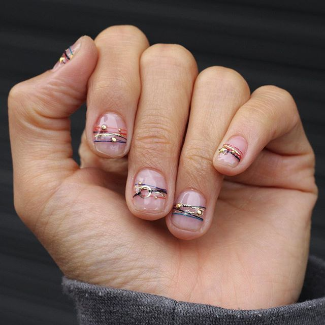 Flawless 50+ Minimalist Nail Art Ideas for The Lazy Cool Girl fashiotopia.com/…..