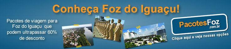 Venha conhecer todas as maravilhas de Foz do Iguaçu! Veja aqui os pacotes de viagem para Foz do Iguaçu que podem ultrapassar 60% de desconto!  #conheçaFozdoIguaçu Acesse http://www.pacotesfoz.com.br e curta nossa fan page – https://www.facebook.com/pages/PacotesFoz/232694180173736?fref=ts