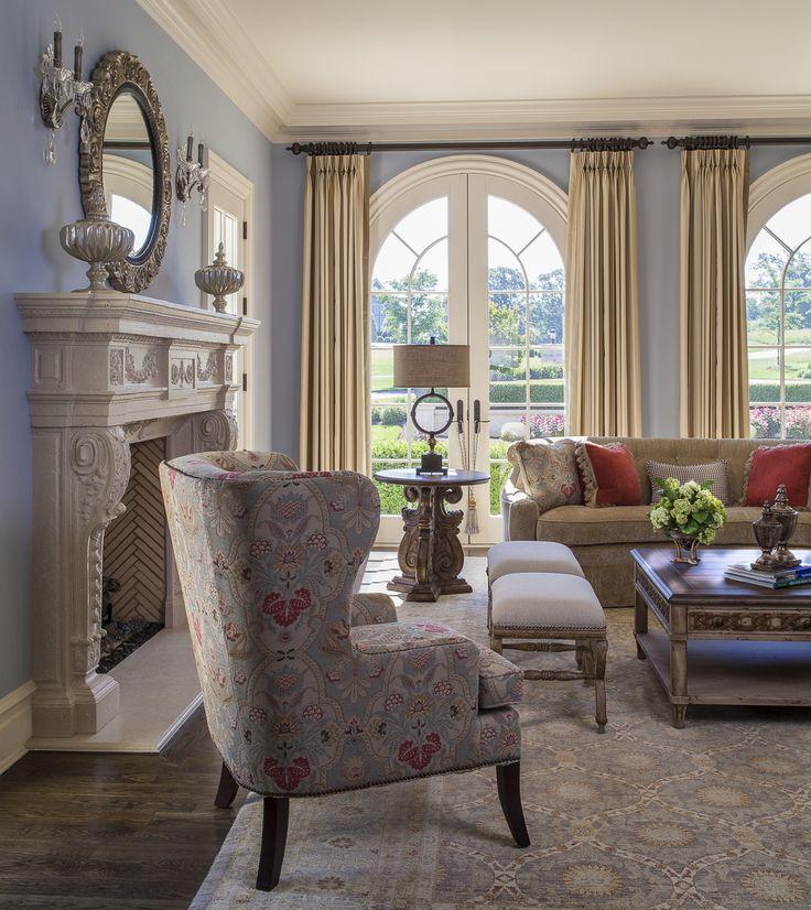 Lauren Nicole Designs   Living Room Interior Design Decor Charlotte NC