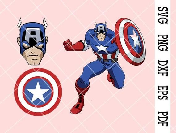 Instant Digital Download Are Digital Files That You Download And Can Use Right Away Once Your Payment Is Confirmed Captain America Mask Captain America Svg