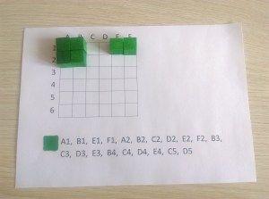 Kodowanie  kolorowe kosteczki #2