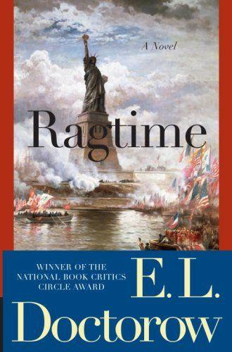 Ragtime: A Novel (Modern Library 100 Best Novels) by E.L. Doctorow http://www.amazon.com/dp/0812978188/ref=cm_sw_r_pi_dp_nx7dub1PZ85KC