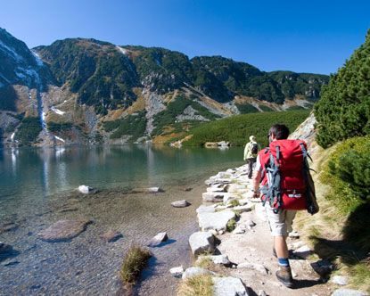 Morski Oko, Zakopane, Poland.  The water really is that clear