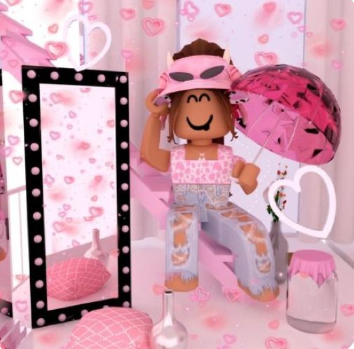 Pink Aesthetic Gfx Cute Tumblr Wallpaper Roblox Pictures Roblox Animation