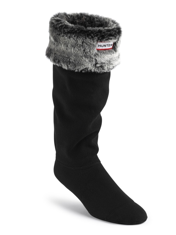 My newest acquisition.  So excited!  Piperlime has these on sale for only $25 right now.  Grizzly Cuff Welly Socks in Black/Grey.