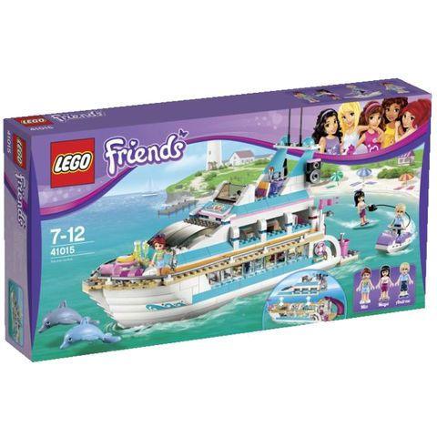 Promo Lego, Friends 41005 Le Yacht  - marque : Lego Navigue sur locéan en toute liberté sur le yacht avec Mia, Maya et Andrew. Pilote le yacht avec Andrew et emmène les filles faire le tour de lîle !... prix : 51.11 EUR €  chez Auchan Jeux et Jouets #Lego #AuchanJeuxetJouets