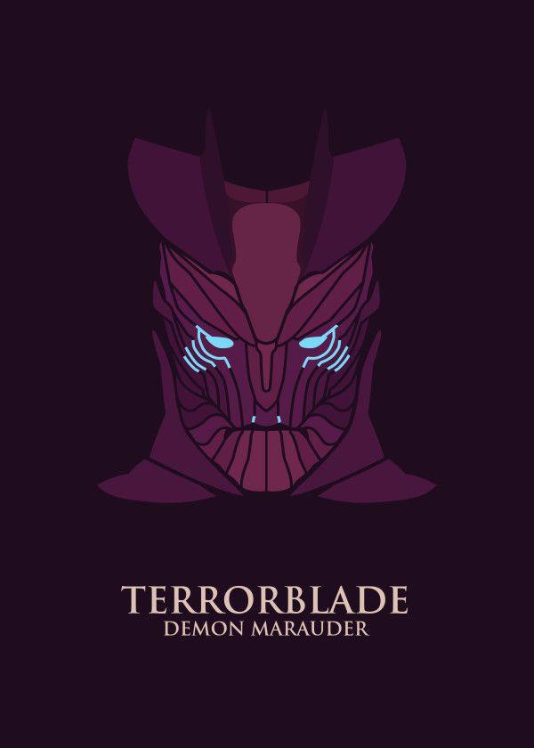 "DOTA 2 Minimalist Characters Terrorblade #Displate artwork by artist ""Jet 29"". Part of an 11-piece set featuring minimalist artwork based on characters from the popular Defense Of The Ancients 2 video game. £39 / $52 per poster (Regular size), £79 / $104 per poster (Large size) #DOTA #DOTA2 #DefenseOfTheAnicients #DefenseOfTheAncients2 #AntiMage #Terrorblade #DarkTerror #Mortred #Kael #Lanaya #Undying #Skitskurr #Yurnero #Abaddon #Davion #MOBA"