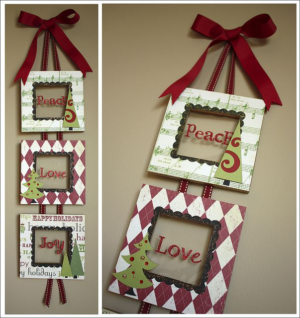 Another way to use those super cheap frames from Hobby Lobby.
