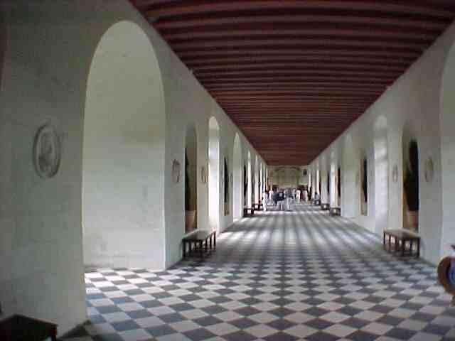 Chenonceau,Grande Gallerie