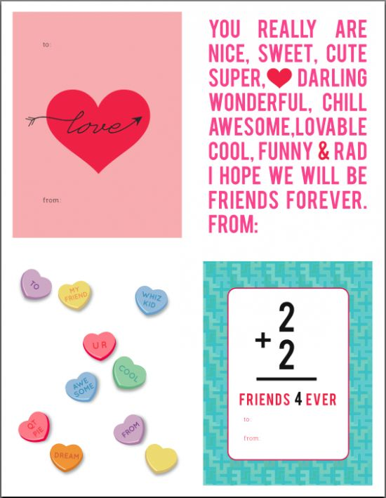 25 best ideas about Free printable valentine cards – Nice Valentine Cards
