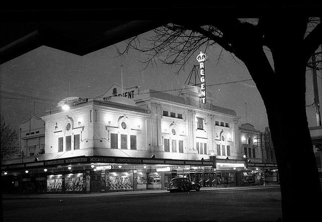 Albury Regent Theatre Old Photo 1940s Dean Street