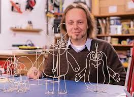 Janusz Grünspek the artist himself