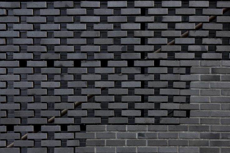 Great brick work layout and design - solid & spaced for light and ventilation  ABC Building / Wise Architecture