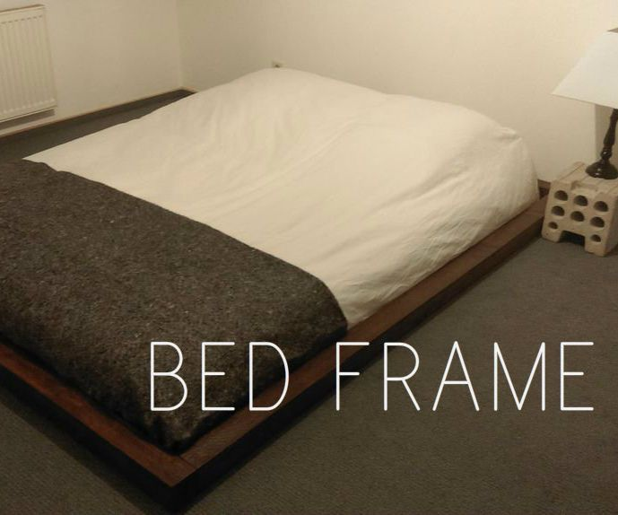 This tutorial is to show you how to make a really simple and nice looking bed frame. Perfect for Attic Flat or to update your palette bed. It cost me about 50euros to make, but if you can find some old beams it will be a lot cheaper. Thats the only thing that was expensive. Personally I would of preferred old ones because I think they look better and its a good way to keep your life style more ecofriendly but sadly I just moved to Germany and have no idea who to ask or where to look…