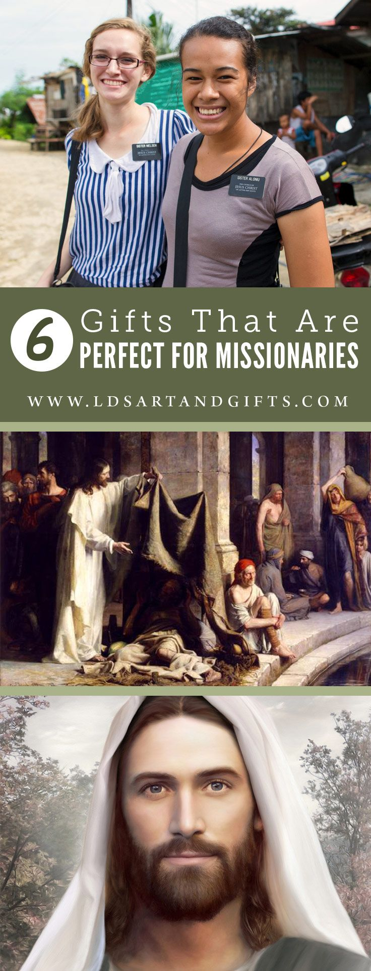 6 Great and Unique LDS Missionary Gifts | We've put together a few items make perfect gifts for your missionary or for your home while your missionary is gone. From LDS paintings to LDS mission maps.