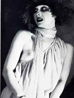 Risveglio di primavera di Franz Wedekind. Regia di Giancarlo Nanni, 1971. La Fede. Nella foto, Manuela Kustermann.