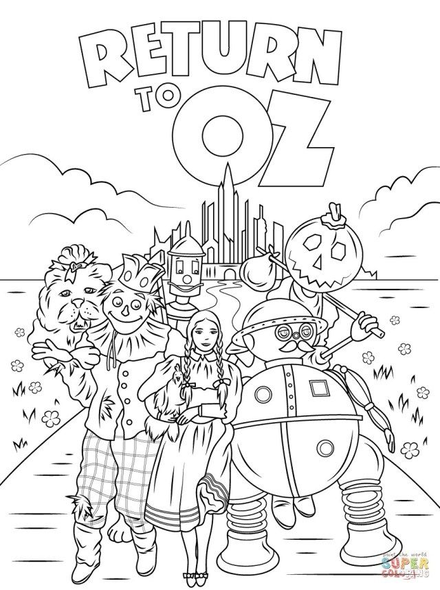 25 Great Picture Of Wizard Of Oz Coloring Pages Albanysinsanity Com Coloring Pages Inspirational Coloring Books Witch Coloring Pages