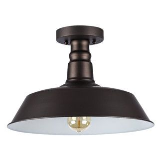 "<strong class=""js-codeception-manufacturer"">Laurel Foundry Modern Farmhouse</strong> Bouvet 1 Light Semi Flush Mount"