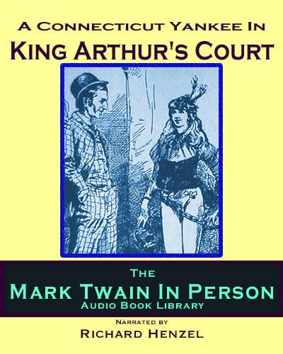 """A Connecticut Yankee In King Arthur's Court UNABRIDGED 13hr 39min  Hank Morgan is a mechanic, engineer, and a foreman at the Colt Arms Factory gets into an argument """"conducted with crowbars"""" with an employee known as """"Hercules."""" A blow to Hank's head sends him back to King Arthur's England in the Sixth Century. Quickly becoming a newspaper tycoon, an inventor, a showman, politician, and one-man military industrial complex, Hank rises to a position of power second only to Arthur. $9.99!"""