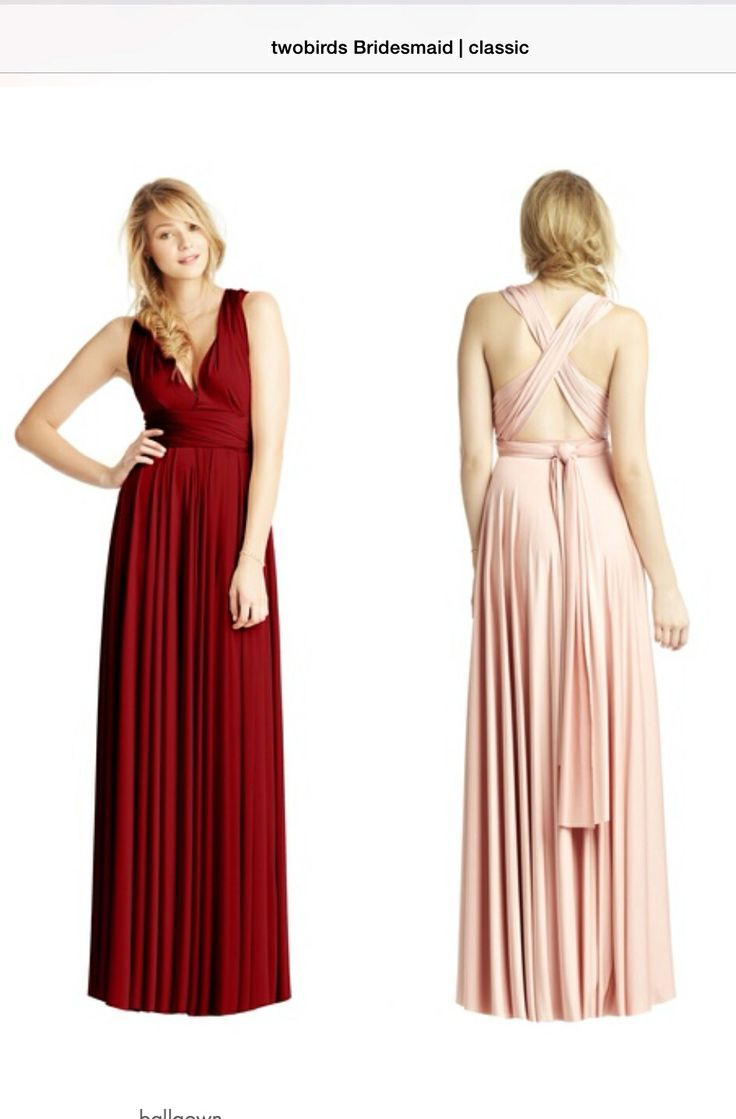 Best 25 two birds bridesmaid ideas on pinterest two birds dress two birds bridesmaid dresses the wine color is the darkest red is this dark ombrellifo Images