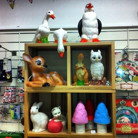 Snúðar & Snældur shop display, Kids Store and Gift Shop in Reykjavik, Iceland