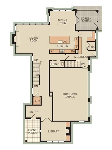 17 Best Images About Large House Plans On Pinterest