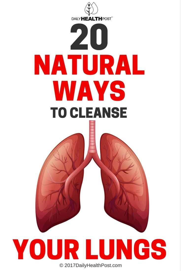 This simple tea can help clear your lungs and throat of mucus and help your body remove unwanted toxins!
