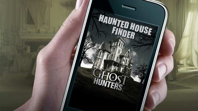 Ghost Hunters Haunted House Finder App