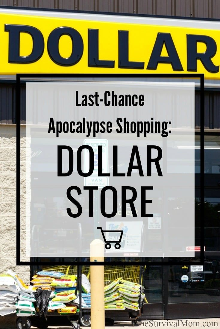 Last-Chance Apocalypse Shopping: The Dollar Stores