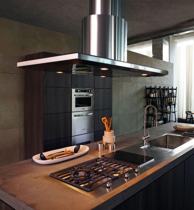 KitchenAid Architect afzuigkap eilandversie - Product in beeld - - Startpagina voor keuken ideeën   UW-keuken.nl