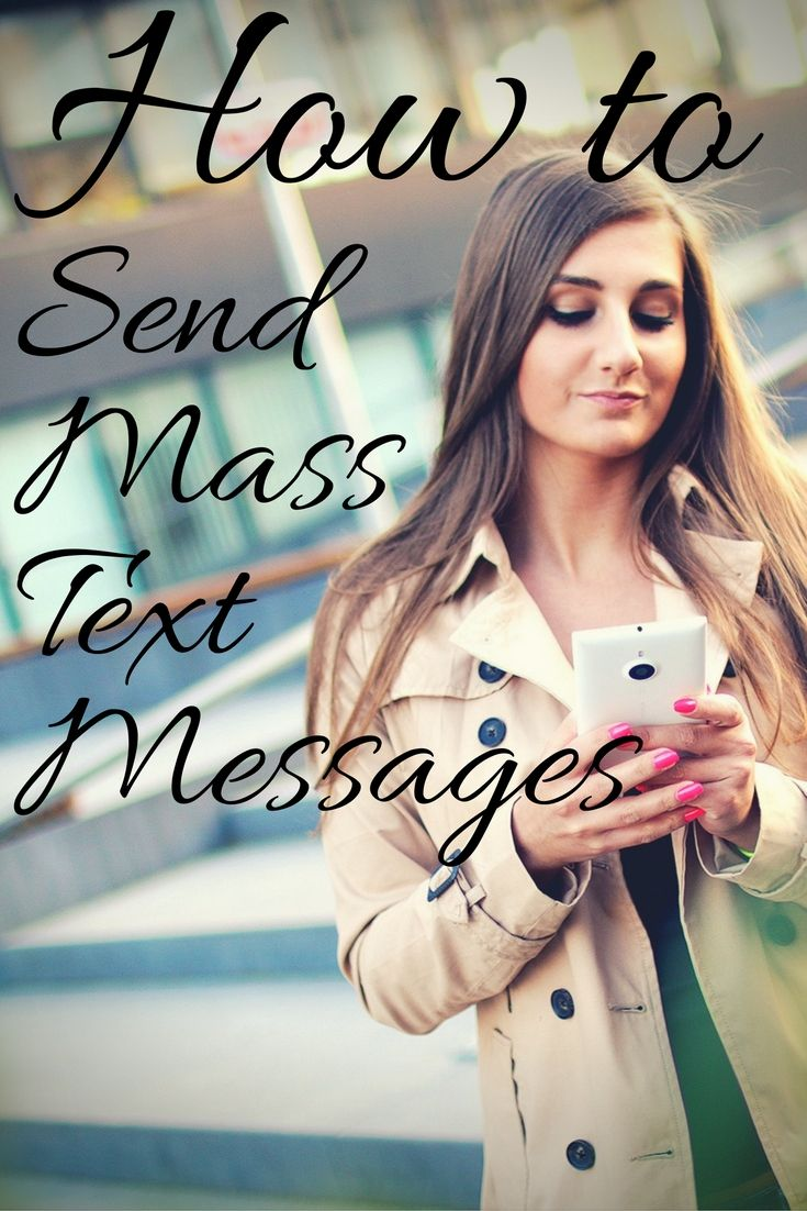 Sending mass text messages from your phone can be nearly impossible! Here's how to send mass text messages easily with a SMS text alert system. -- mobile-text-alerts.com