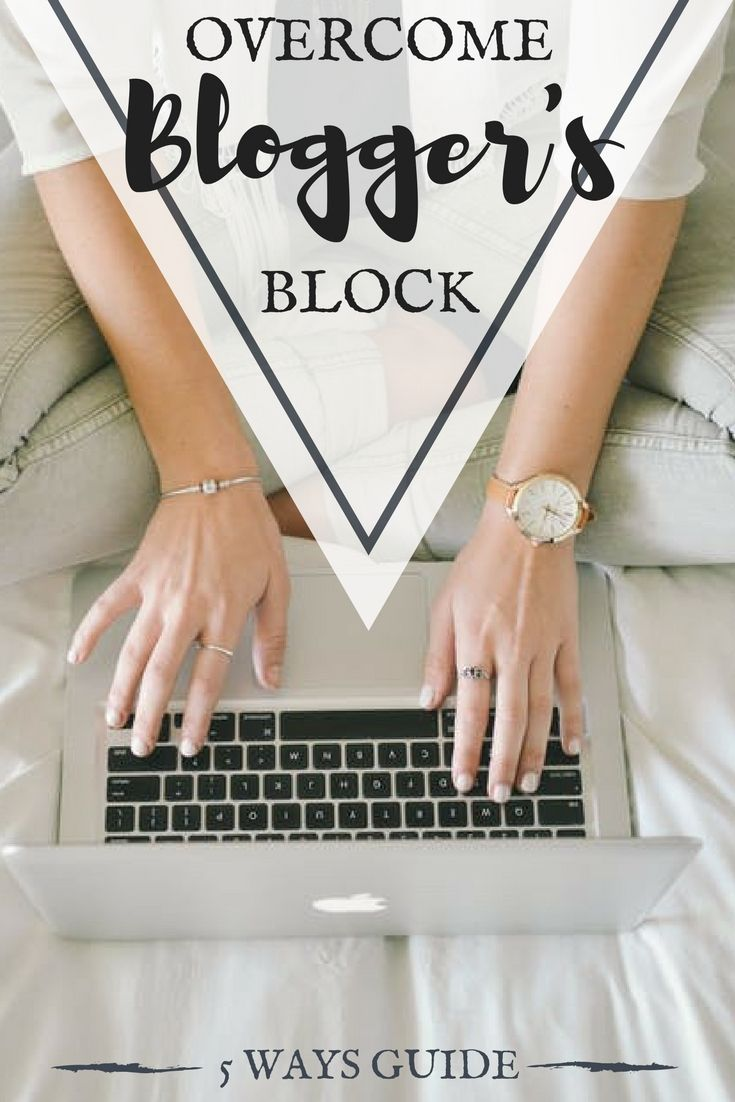 5 simple ways to overcome writer's block on https://samanthacarraro.wordpress.com/2016/07/05/how-to-overcome-the-bloggers-block/ #Blogger #Writer #Block #Guide #Selfimprovement