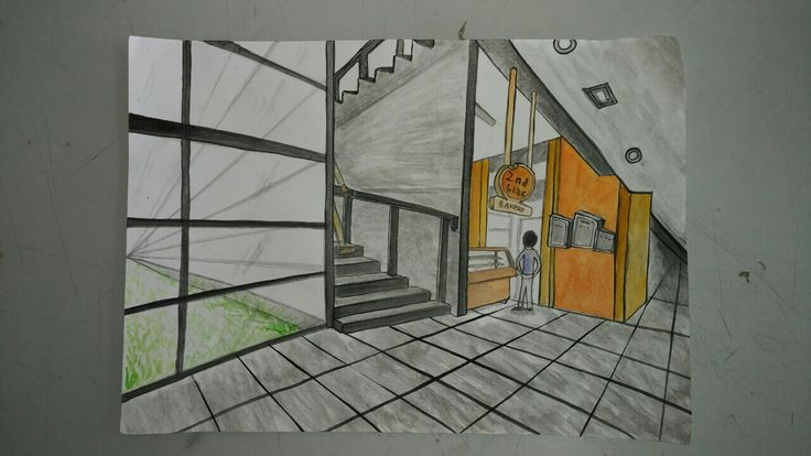 [MID: Perspective Drawing] March 23rd 2017