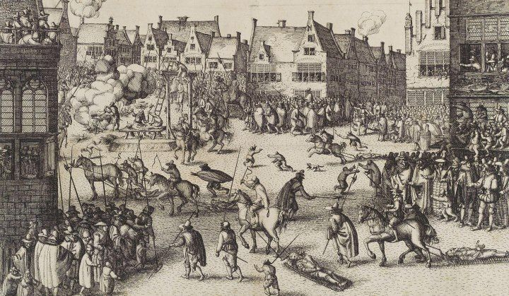 The Execution Sites of London Historic UK Guy fawkes