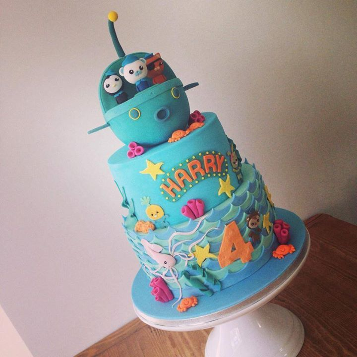 70 best images about Cake - Octonauts/Octopus on Pinterest ...