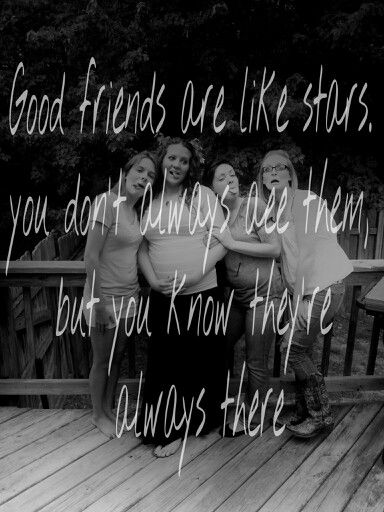 Friends are like stars *photo of me my 2 sisters and our sister from another mister*