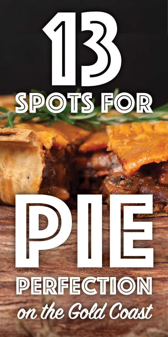 WE'VE MADE THE ULTIMATE LIST OF PIE SHOPS ON THE GOLD COAST! Go Check out http://www.insidegoldcoast.com.au/blog/articles/2016/7/20/13-spots-for-pie-perfection to see which ones make the cut! #welovepies #goldcoast