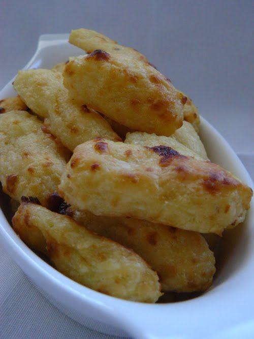 Palitos de queso y patata de Julia Child por HorneAndo Algo