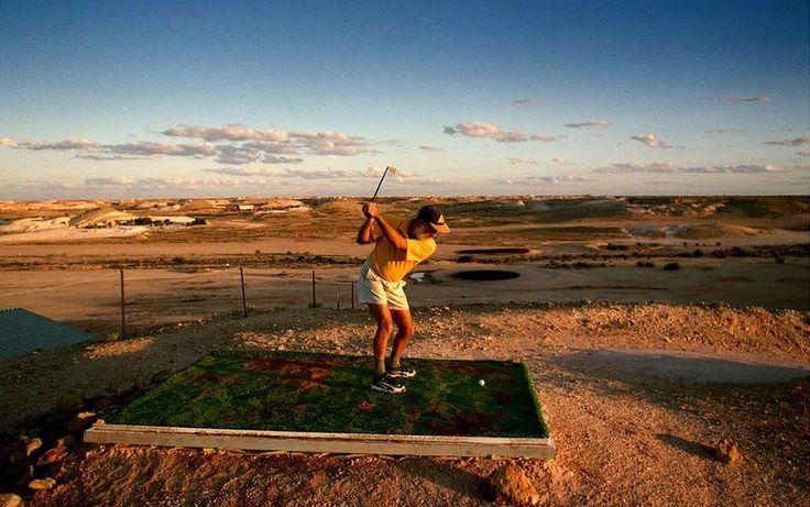 Golf at Coober Pedy, South #Australia