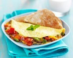 Crêpe salée de polenta (facile, rapide) - Une recette CuisineAZ