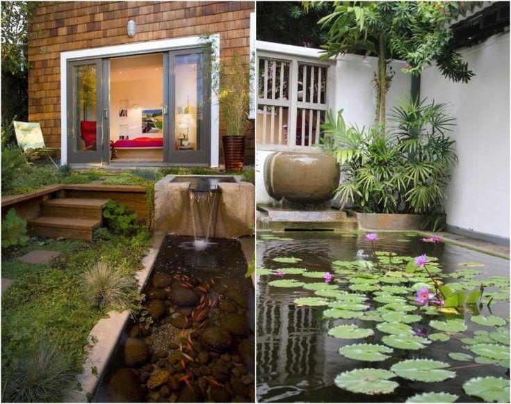 zone Eau dans le jardin Feng Shui: richesse, prospérité, carrière