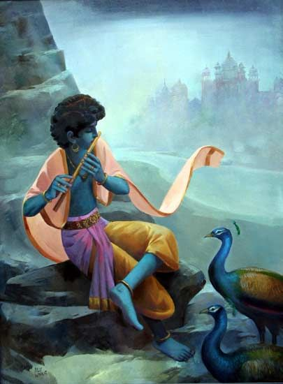 Dilip Kadam | Paintings by Dilip Kadam | Dilip Kadam Painting - SuchitrraArts.com