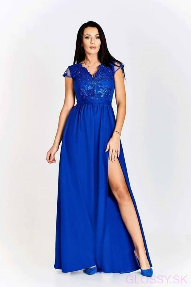 49031b5b9712 Nádherné dlhé šaty Victoria sú stvorené na ples či inú spoločenskú udalosť.  Vrch šiat je