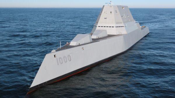 USS Zumwalt por primera vez en vídeo el destructor más avanzado de Estados Unidos