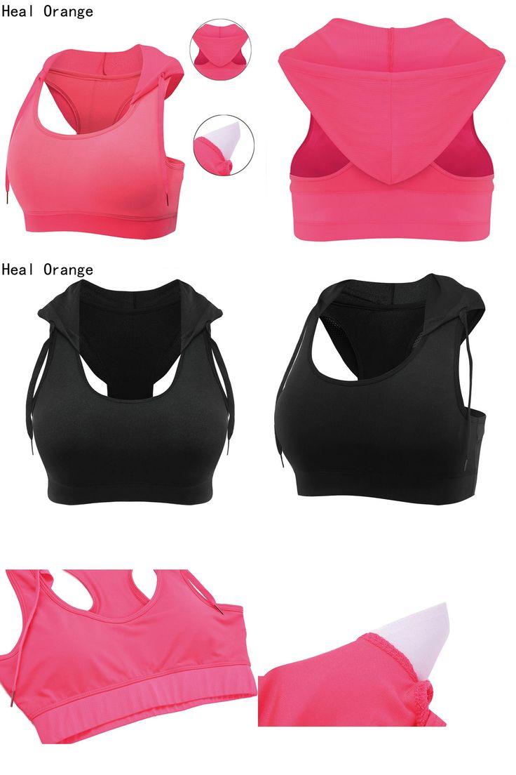 [Visit to Buy] HEAL OEANGE Women's Yoga Shirt Sports Bra Padded Yoga Top Tank Running Shirt Ladies Sportswear Gym Shirt Women Yoga Clothing #Advertisement