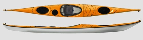 Kayak Academy: lists height and weight recs for their kayaks for sale.