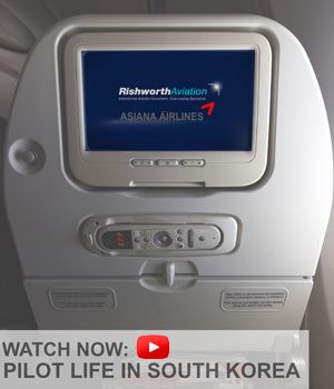 Pilot Life Video: See what pilot life is like flying for Asiana Airlines and living in Seoul, South Korea -  http://ow.ly/ThjdU #RishworthAV #pilotjobs