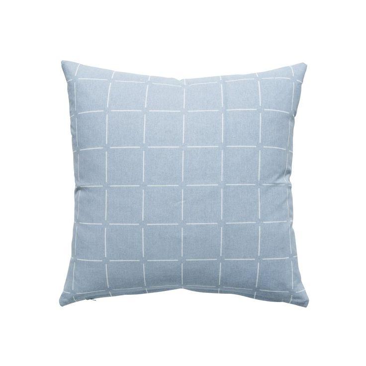 Broken Check Cushion Ice