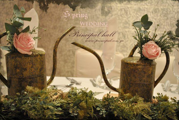 Spring wedding deco details  #principalhall #wedding #romantic #table #roses #flower #spring #weddingparty #weddingday